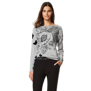 Desigual - Woman - Women's Grey Jumper - See - See - Size M