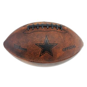 Wilson Dallas Cowboys 11-Inch Junior Throwback Football