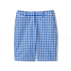 Lands' End Blue Regular Print Chino Shorts