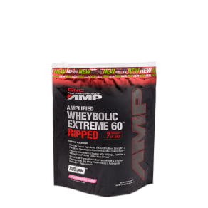 Amplified Wheybolic Extreme 60 Ripped - Strawberries And Cream - 1 Lb(S) - GNC Pro Performance Amp - Whey Protein