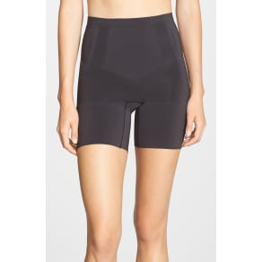 Women's Spanx Oncore Mid Thigh Shorts, Size Medium - Black