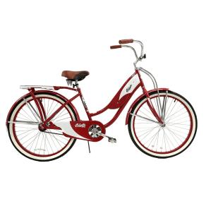 Columbia Women's 1952 Vintage 26 Cruiser Bike - Red