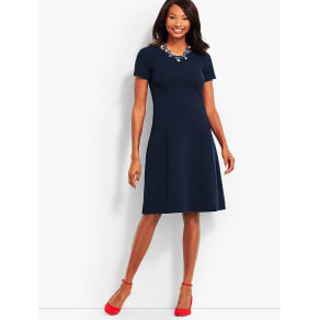 Talbots Women's Fit Flare Dress