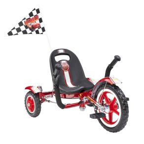 Mobo Tot Disney Cars- Lightning McQueen Classic: A Toddleraeur(tm)s Ergonomic Three Wheeled Cruiser, Red