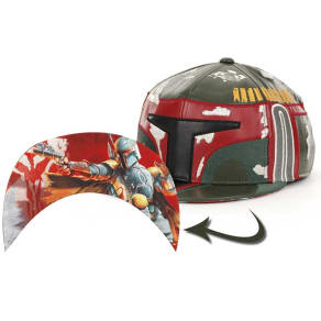 Boba Fett Star Wars Star Wars Big Face Cap