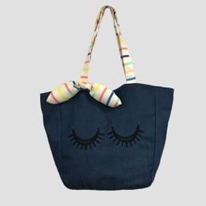 Girls' Eye Tote Bag - Cat & Jack Chambray