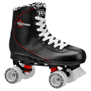 Roller Derby Men's Roller Star Quad Skates - Black 5, Black Red