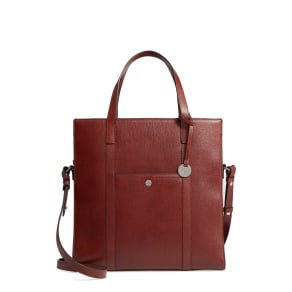 Lodis Business Chic Nikita Rfid-Protected Leather Tote - Red