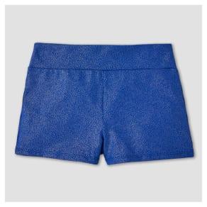 Freestyle by Danskin Girls' Stars Gymnastics Shorts - Purple L