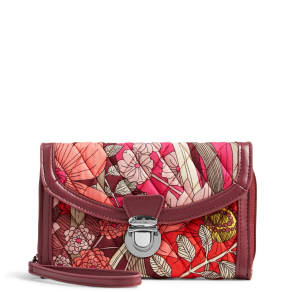 Vera Bradley Ultimate Wristlet in Bohemian Blooms
