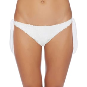 State Of Lace Soft Tie Bottom Color: White Size: L