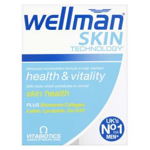 Vitabiotics Wellman Skin Technology 60s