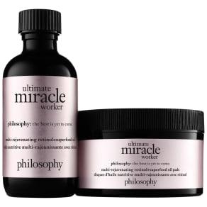 Philosophy Ultimate Miracle Worker Multi-Rejuvenating Retinol+superfood Oil With Pads