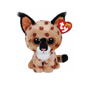 New Elc Boys and Girls Ty Buckwheat the Linx Beanie Boo Toy From Birth