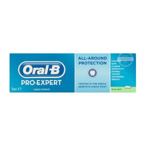 Oral-B Pro-Expert All-Around Protection Toothpaste - Mild Mint 75 Ml