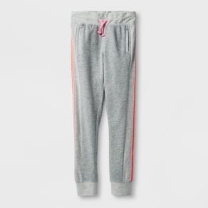Girls' Activewear Jogger Pants - Cat & Jack Heather Gray Xl
