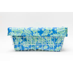Cruiser Candy Large Blue/Green Hibiscus Trike Liner