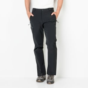 Jack Wolfskin Softshell Trousers Men Activate Thermic Pants Men 50 Grey