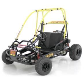 American Sportworks Black Widow 136cc Go Kart
