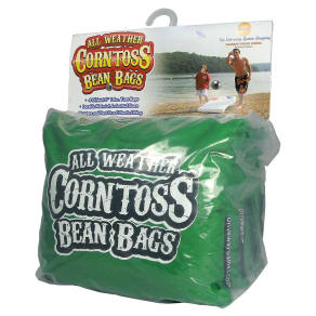 Driveway Games All Weather Corntoss Bean Bags - Green