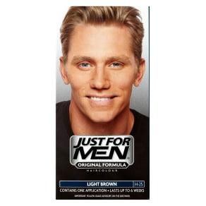 Just For Men Hair Colourant, Natural Light Brown