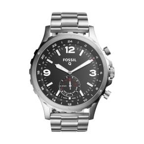 Men's Fossil Q Nate Bracelet Hybrid Smart Watch, 50mm