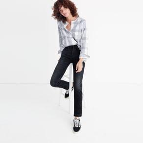 Slim Straight Jeans: Drop-Hem Edition