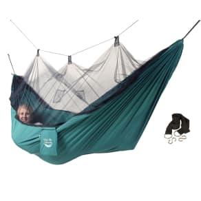 Blue Sky Hammocks Mosquito Net Hammock Includes Free Tree Straps, Green