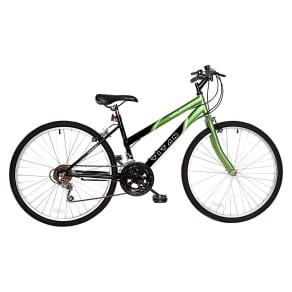 Titan Women's Wildcat 26 Mountain Bike - Green/Black