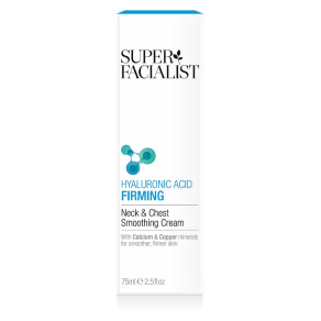 Super Facialist Hyaluronic Acid Firming Neck & Chest Smoothing Cream 75ml