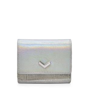 Women's Botkier Soho Mini Leather Wallet - Metallic