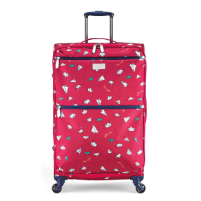 Radley Paper Trail Lolly 4 Wheel Soft Large Case, Pink