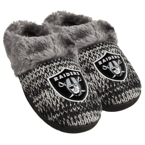 Oakland Raiders Womens Peak Slide Slipper