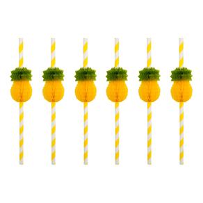 Sunnylife Honeycomb Pineapple Straws