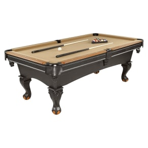 Minnesota Fats 7.5' Convington Billiard Table, Cherry Wood Rails