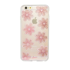 Berry Bloom Clear Coat Case for Iphone 6/6s Plus