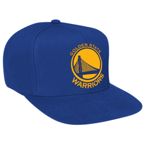 Golden State Warriors Mitchell & Ness Nba Solid Snapback - Mens - Royal