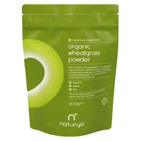 Naturya Organic Wheatgrass Powder Packet 200g