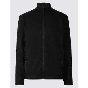 M&S Collection Zipped Through Fleece Jacket