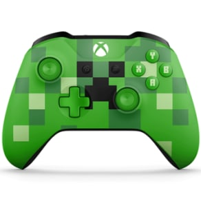 Official Xbox One Wireless Controller: Minecraft Creeper for Xbox One