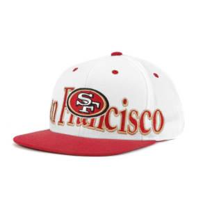 San Francisco 49ers Reebok Nfl Long Snap White Cap