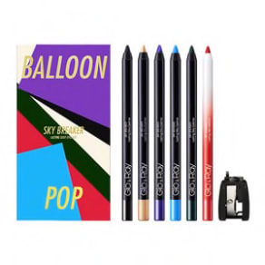 Glo and Ray Balloon Pop Sky Breaker Eyeliner Gift Set for Her
