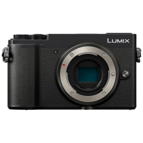 Panasonic Lumix Dc-Gx9 Compact System Camera, 4k Ultra Hd, 20.3mp, Wi-Fi, Bluetooth, Tiltable Evf, 3 Tiltable Touch Screen, Body Only, Black
