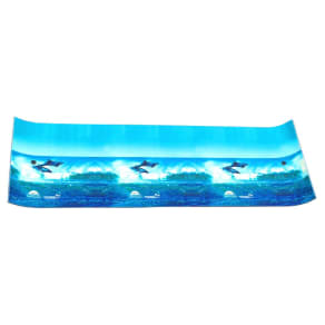 Chill Lake and Pool Drifter Island Graphic Water Mat - Dolphin Graphic (18'), Multi-Colored