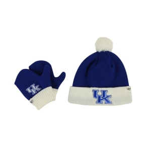 '47 Brand Toddlers' Kentucky Wildcats Knit Hat and Mittens Set