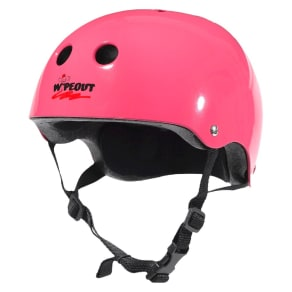 Wipeout Youth Helmet - Hot Pink
