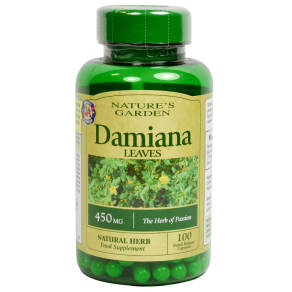 Good N Natural Damiana Leaves 100 Capsules 450mg - 100capsules