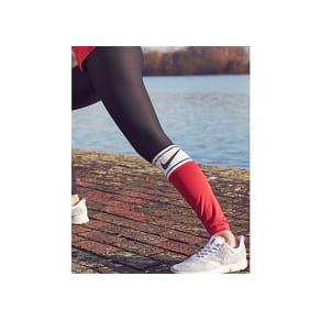 Nike Training Power Colourblock Tights - Black/White/Red - Womens