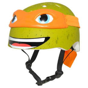 Teenage Mutant Ninja Turtles Michaelangelo Child Helmet - Green/Orange