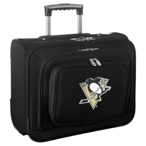 NHL Pittsburgh Penguins Mojo Wheeled Laptop Overnight Bag
